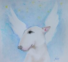 Bull Terrier - I'll Wait For You by Noewi