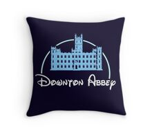 Downton Abbey / Disney Throw Pillow