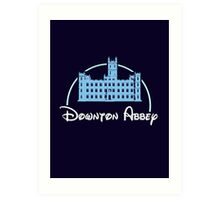 Downton Abbey / Disney Art Print