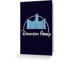 Downton Abbey / Disney Greeting Card