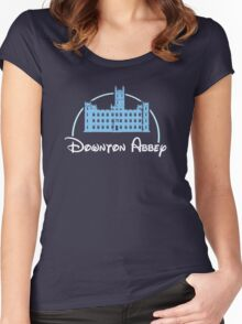 Downton Abbey / Disney Women's Fitted Scoop T-Shirt