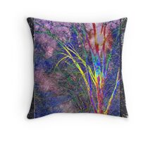 Ode to the 60's Throw Pillow