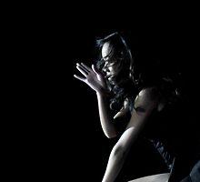 ...in shadow, she danced... by Steve Cozart