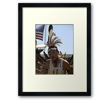 Concentration -The New Generation #7 Native Culture Lives On Framed Print