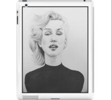 """""""Marilyn"""" iPad Case/Skin"""