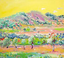 Saffron summer by Kerry  Thompson