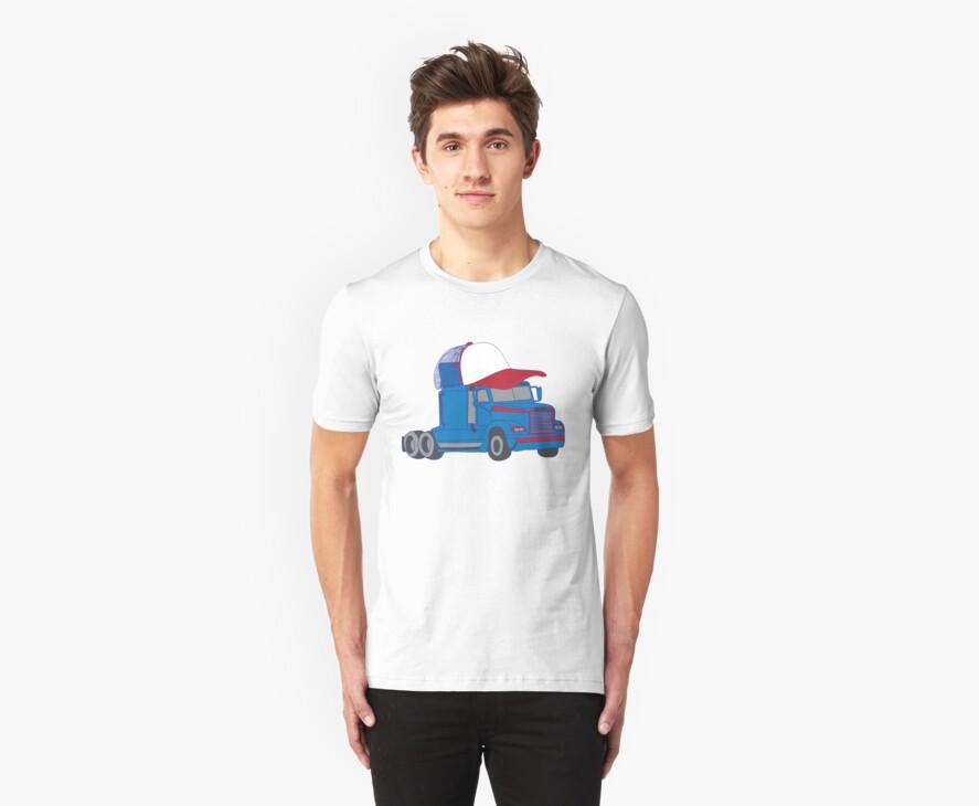 Trucker Hat Trucker by yelly123