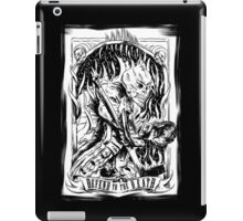 Defend to the Death - Old Skull Hockey iPad Case/Skin