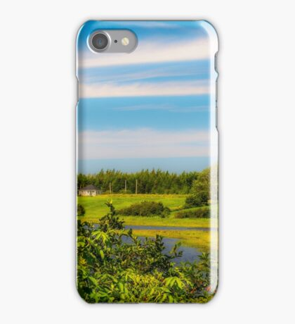 Celtic Shores Coastal Trail iPhone Case/Skin