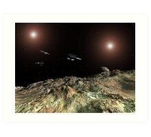 In Outer Space Art Print