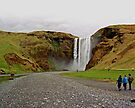 Skogafoss near Skogar, Iceland by Margaret  Hyde