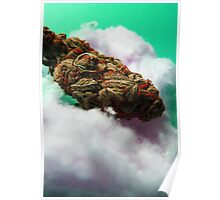 Cotton Candy Clouds. Poster