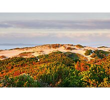 Dawn over the dunes. Photographic Print