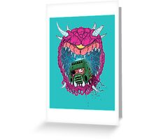 That's One Doomed Space Marine Greeting Card
