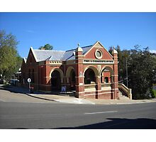 Omeo Post Office, Victoria Photographic Print