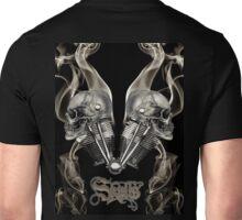 TWIN SKULLS Unisex T-Shirt