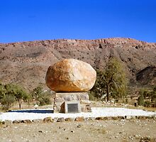 John Flynn's grave, Northern Territory, Australia 1966 by Margaret  Hyde