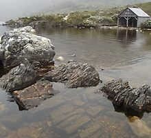 boatshed at Dove Lake - Cradle Mt (Tasmania) by gaylene