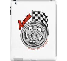 Ansen Mag Wheels iPad Case/Skin