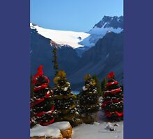 Christmas in the Canadian Rockies Unisex T-Shirt