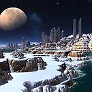Shores of The Silent City by SpinningAngel