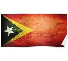 East Timor - Vintage Poster