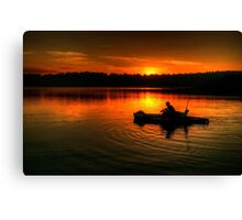 Solitude - Narrabeen Lakes, Sydney - The HDR Experience Canvas Print