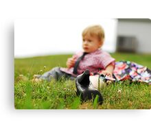 Child Abuse. Canvas Print