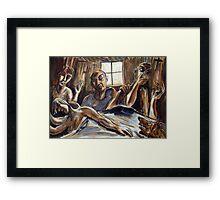 Australian Exorcist Framed Print
