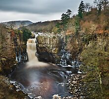 High Force, Upper Teesdale. UK  by David Lewins