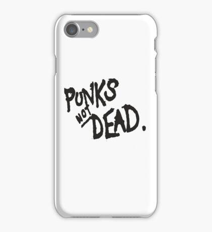 PUNK IS NOT DEAD iPhone Case/Skin