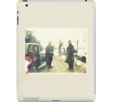 Two Sergeants, Norfolk, Uk - WWII iPad Case/Skin