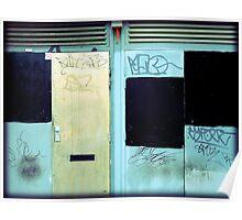 Manchester Tagging Doorways Poster