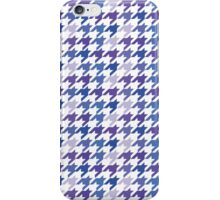 Chanel Fashion Print -   Blue Houndstooth Pattern iPhone Case/Skin