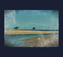surfers at lagoon 1 Kids Tee