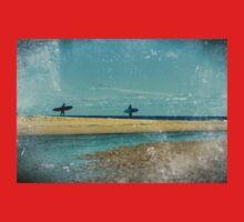 surfers at lagoon 1 Baby Tee