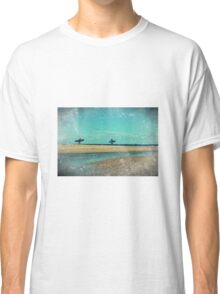 surfers at lagoon 1 Classic T-Shirt