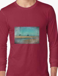 surfers at lagoon 1 Long Sleeve T-Shirt