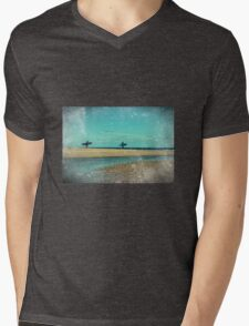 surfers at lagoon 1 Mens V-Neck T-Shirt