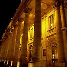 Bordeaux Theater at night by bubblehex08