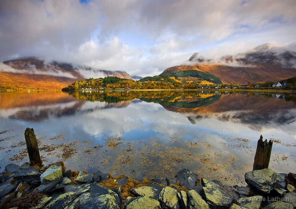 Scotland: Glencoe Reflections by Angie Latham