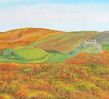 Carreg Cennen Castle by troutcatcher