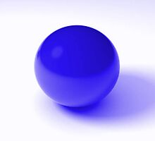 Blue Ball by Nick Martin