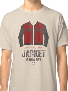 Cinema Obscura Series - Back to the future - Jacket Classic T-Shirt