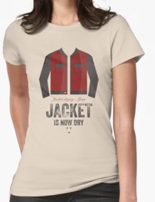 Cinema Obscura Series - Back to the future - Jacket Womens Fitted T-Shirt