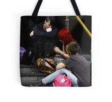 Pink Punk Tote Bag