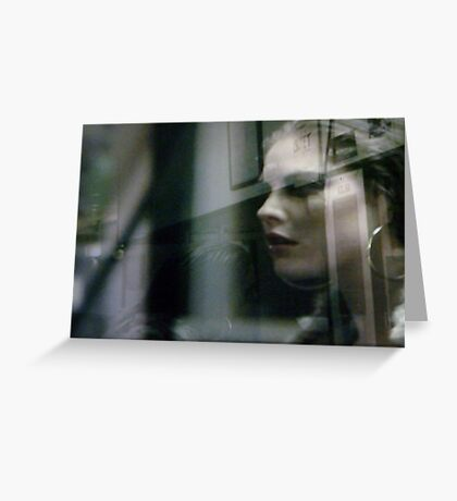 TV Capture - Experiment 1 Greeting Card