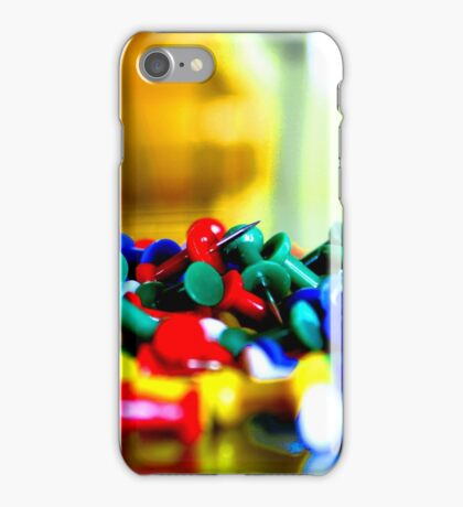 Color Pins iPhone Case/Skin