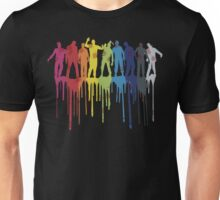 Rainbow Zombie Shuffle: Version Two Unisex T-Shirt