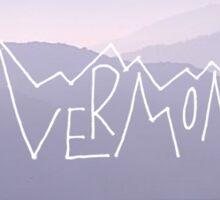 Vermont 2 Sticker